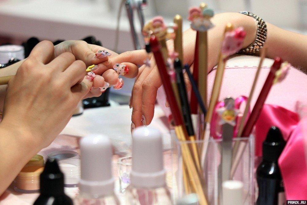 Открытки, прикольные картинки мастеров ногтевого сервиса