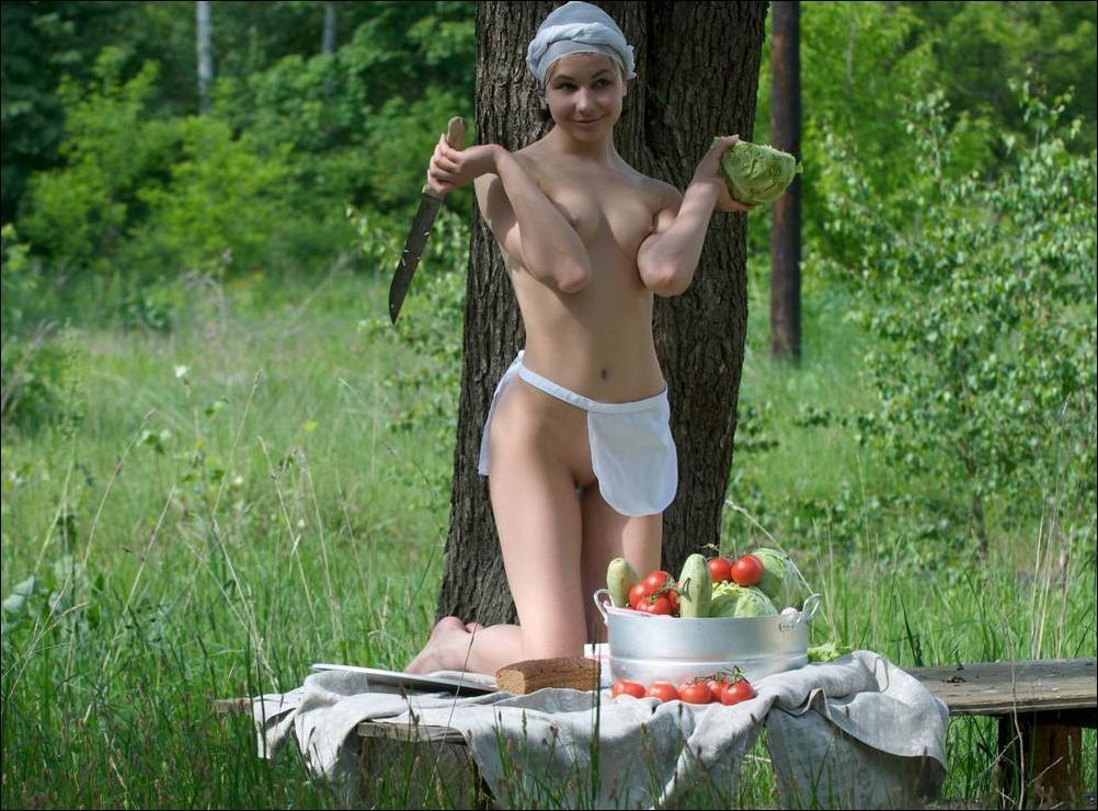 большие сиськи на пикнике фото