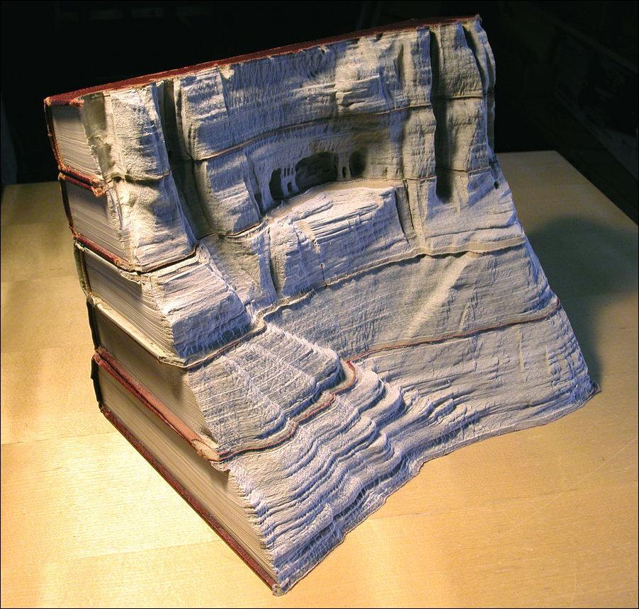 Скалистые пейзажи из книг