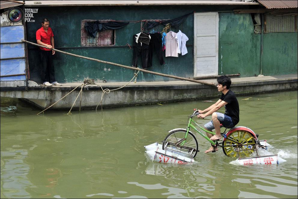 с поплавками необычные