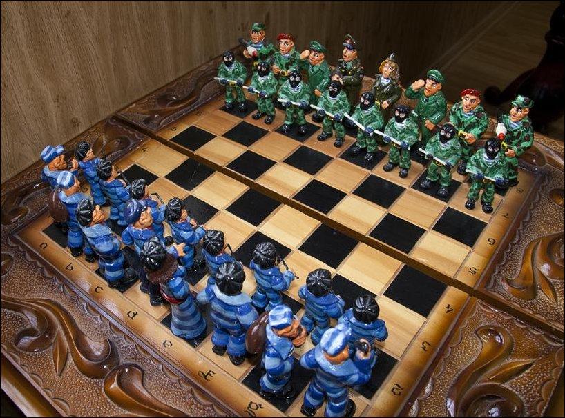 Хлебные шахматы