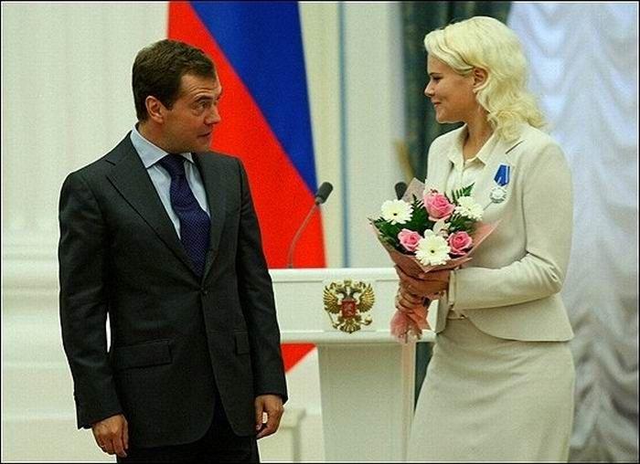 Президент и женщины