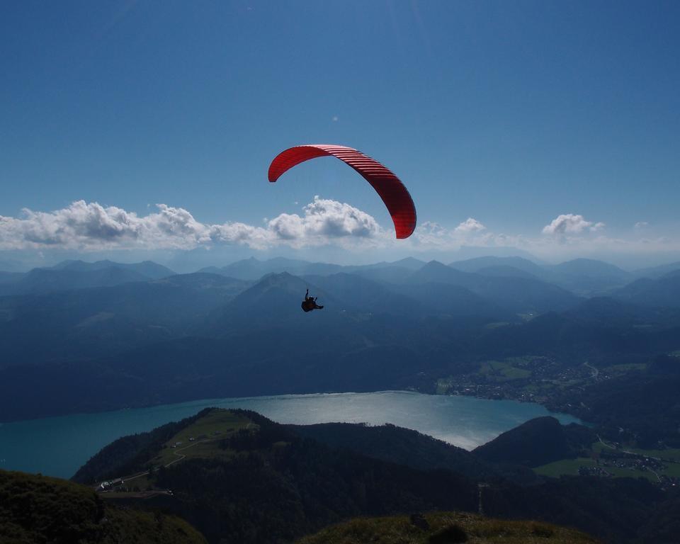 Австрия, Luftaufnahme Schafberg