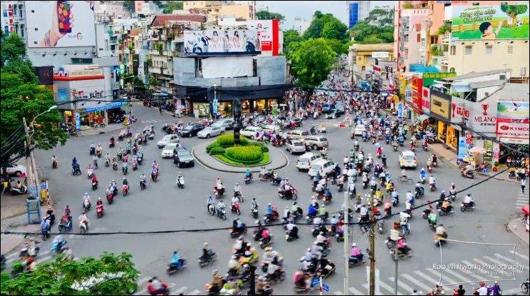 Траффик в Сайгоне