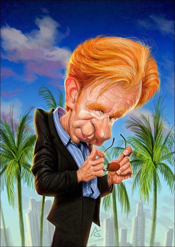 Карикатуры на знаменитостей