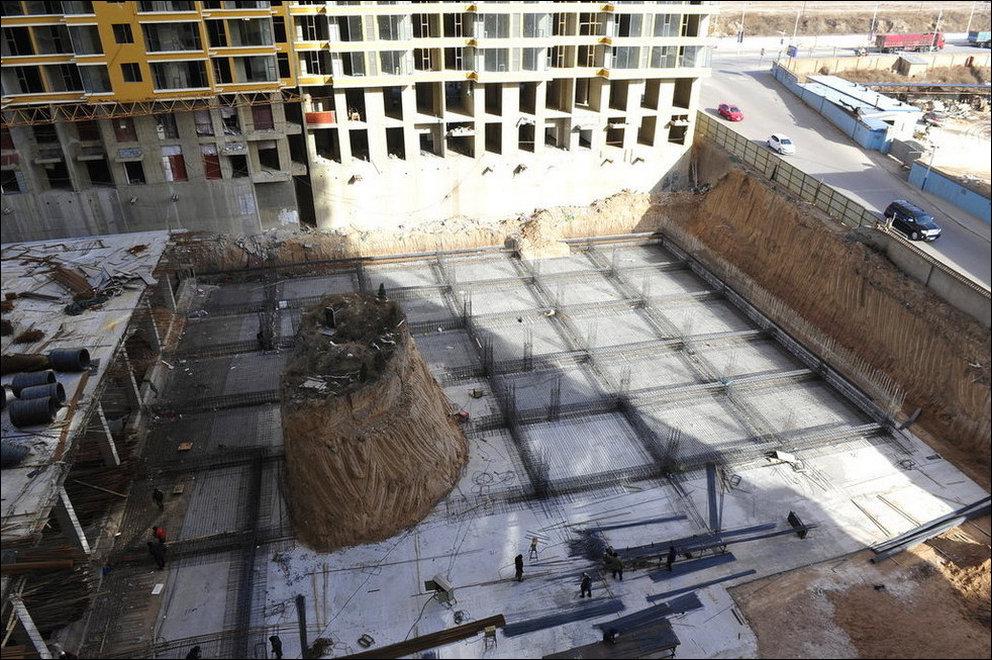 Строительство дома на месте кладбища