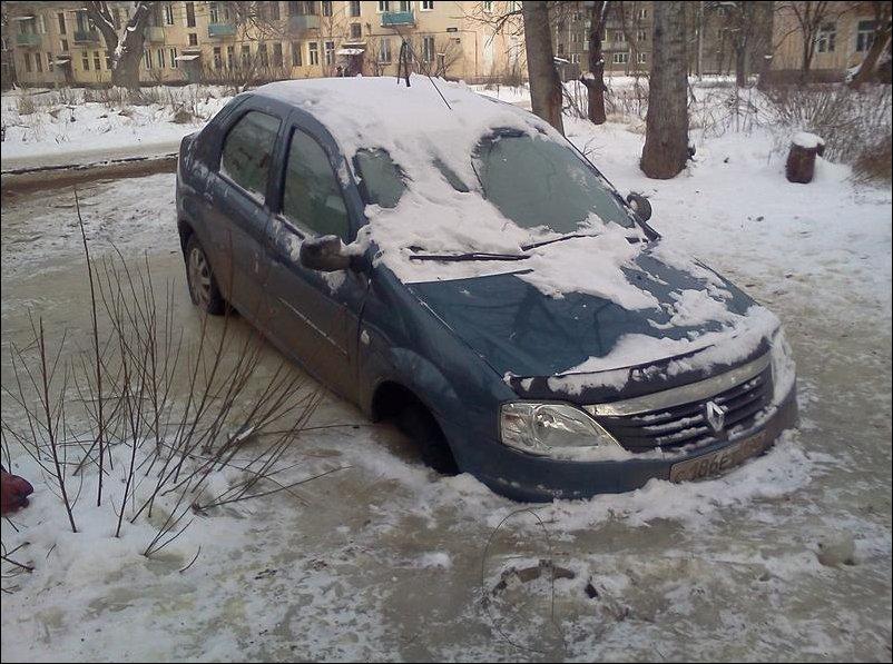 Припарковался до весны
