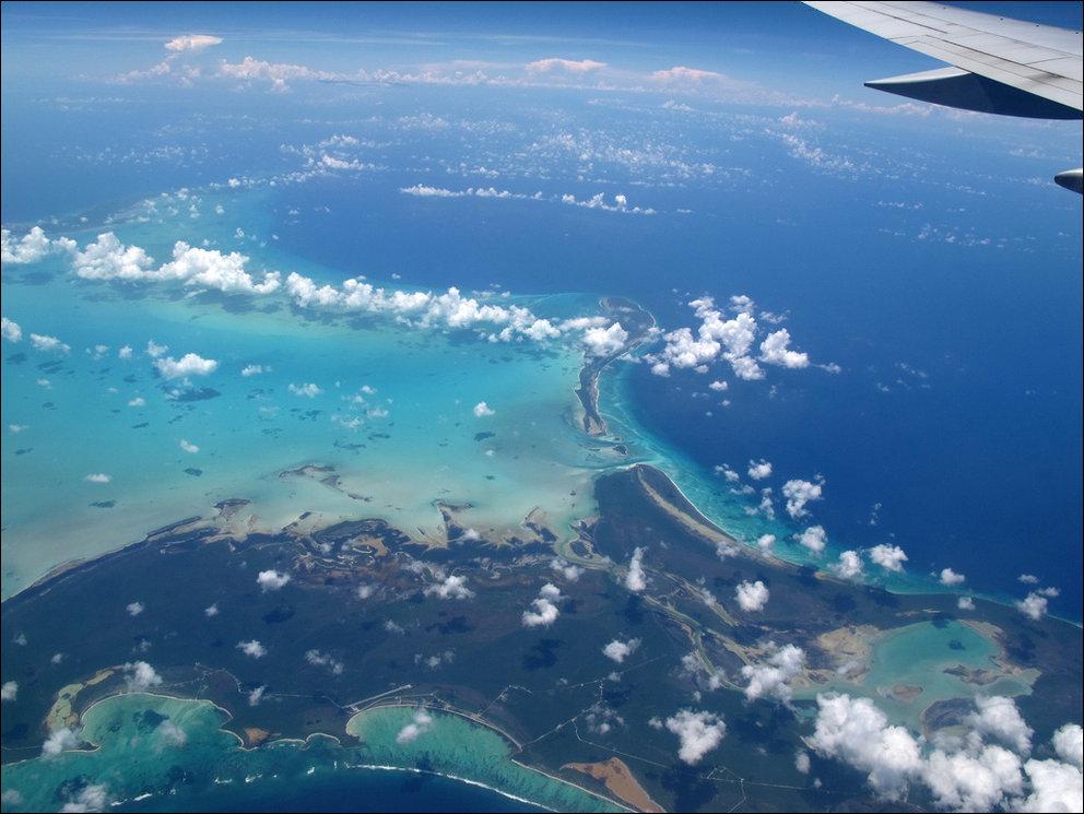 Из окна самолета