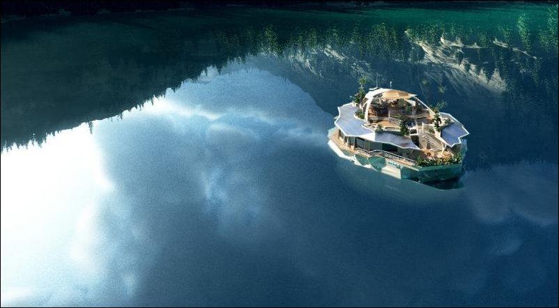 Яхта-остров