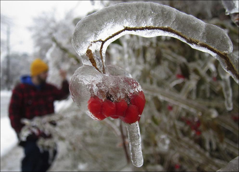 Ледяной шторм в Канаде