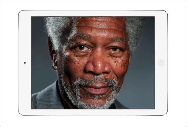 Портрет пальцем на iPad