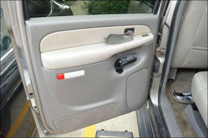 Неожиданная находка в дверце автомобиля