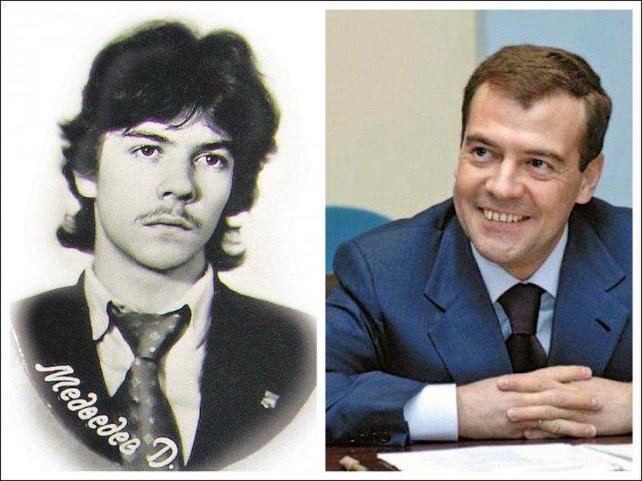 Политики в молодости
