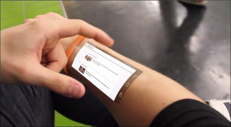 Проекционный браслет