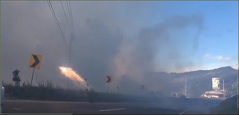 Взрыв пиротехники в Колумбии
