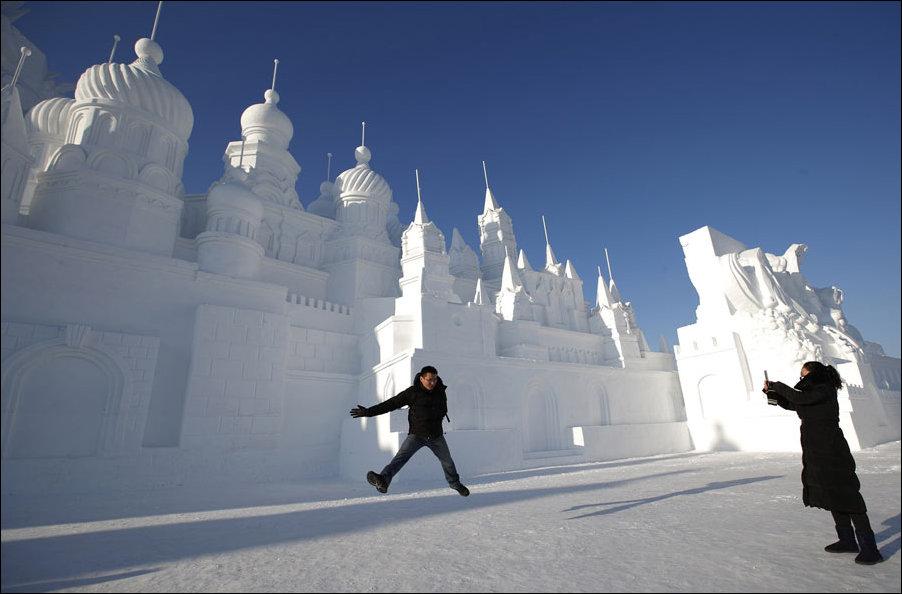 Фестиваль льда и снега в Харбине