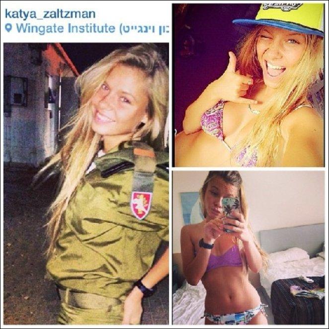 Девушки армии Израиля