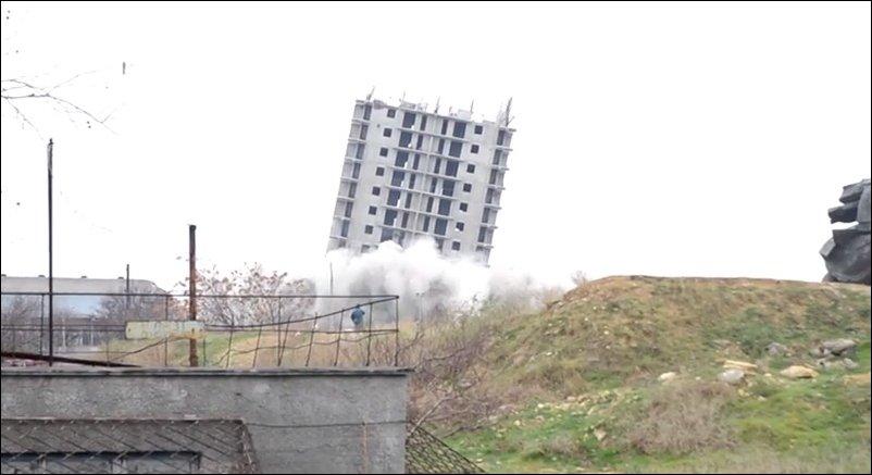 Взрыв 16-этажного дома в Севастополе