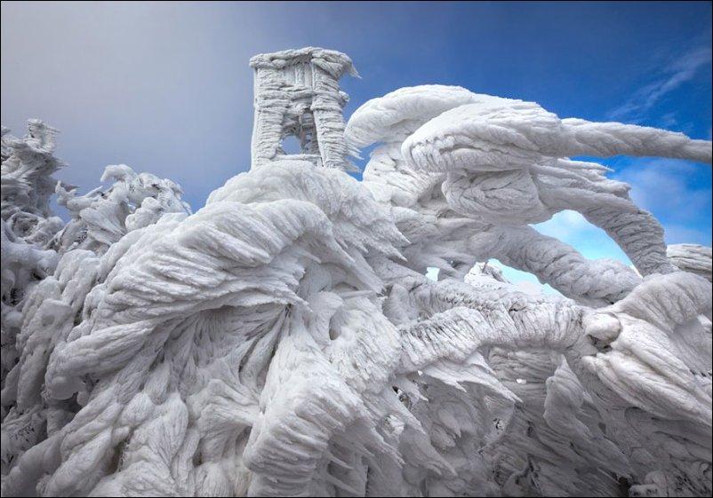 Ледяное царство в Словении