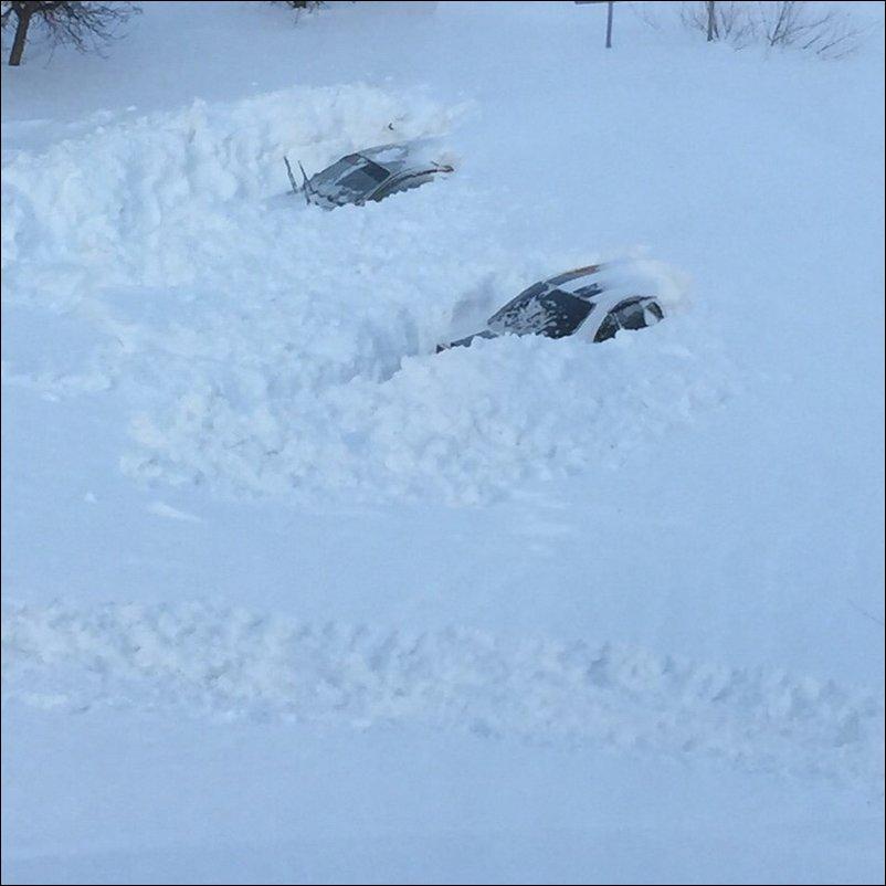 Снега во Владивостоке