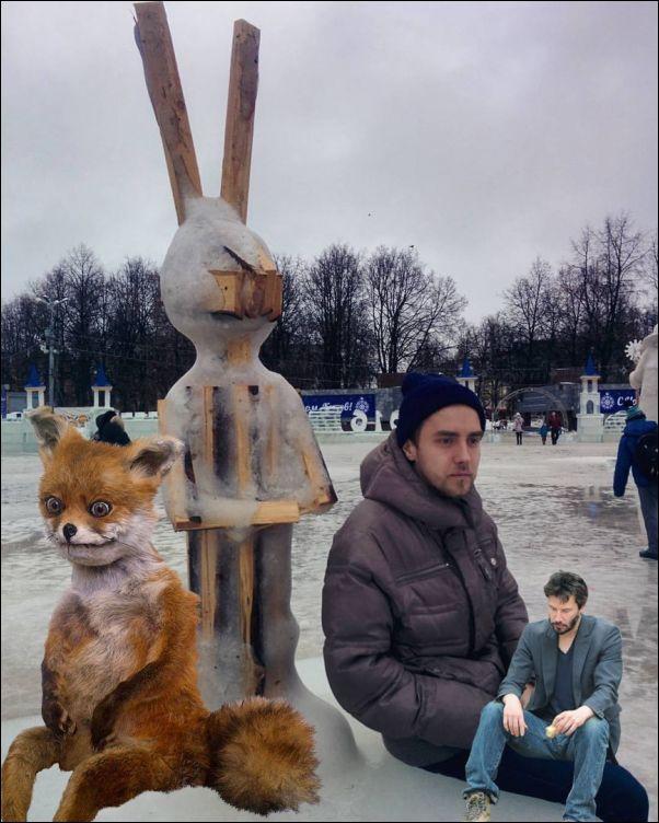 Ледовый городок в Кирове растаял