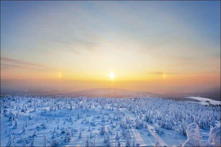 Зимняя Лапландия