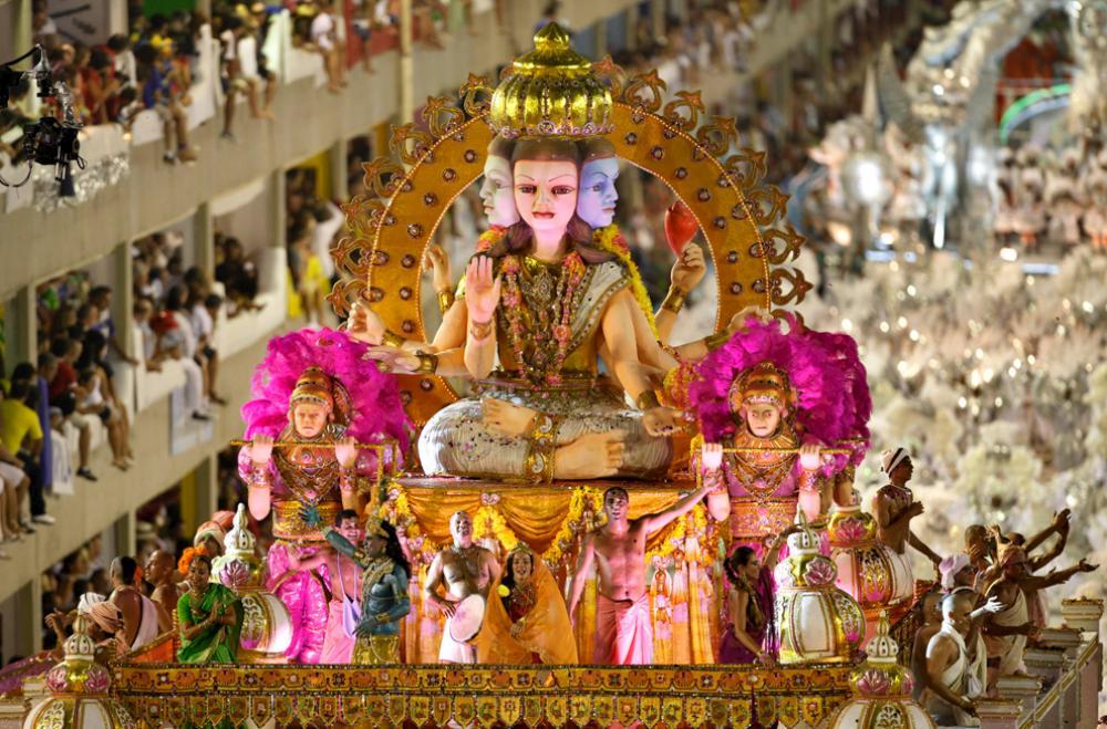 Фото с карнавала в Рио Де Жанейро 2010.