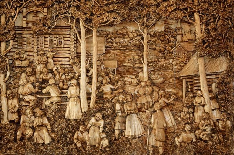 Картинки по дереву своими руками
