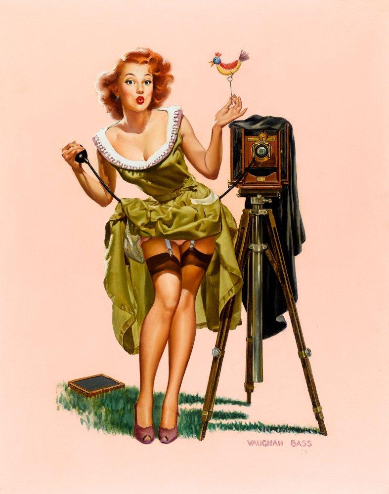 Рыжая девушка в стиле пип гел 3 фотография