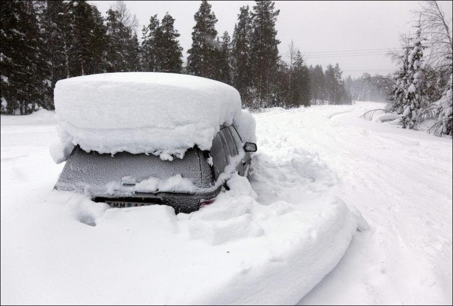 Два месяца в заваленном снегом автомобиле