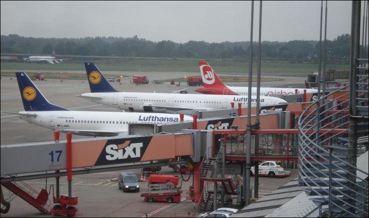 Инцидент в аэропорту Гамбурга