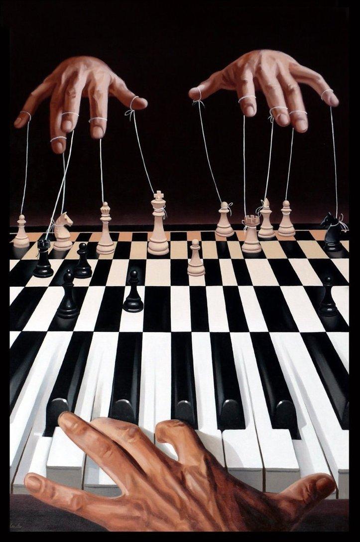 Сюрреалистичные рисунки румынского художника Mihai Criste