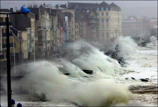 Февральский шторм в Новороссийске