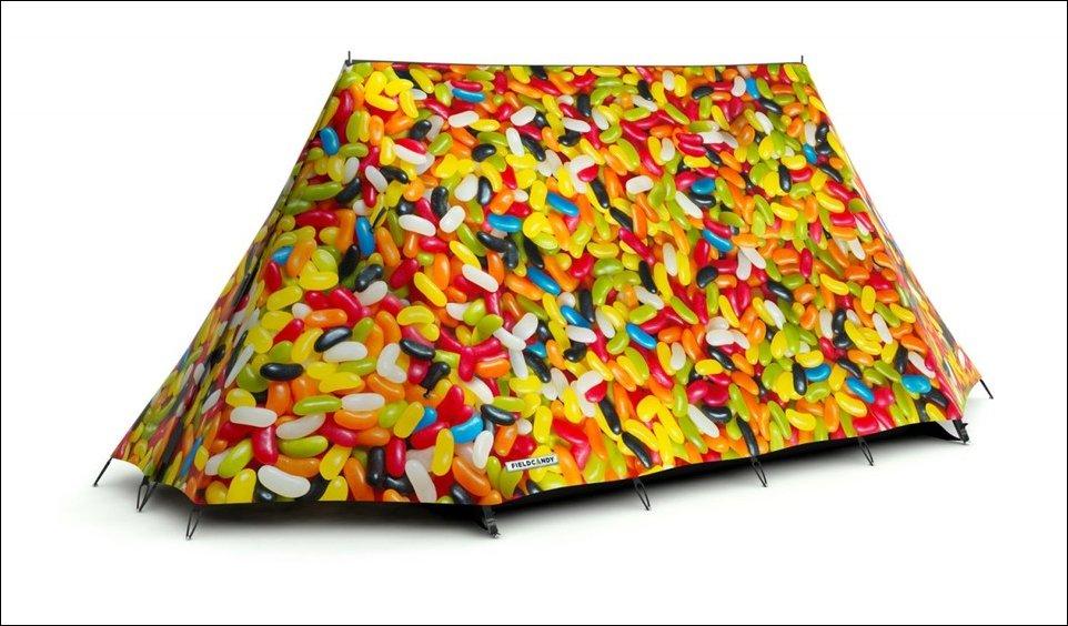 Креативные туристические палатки
