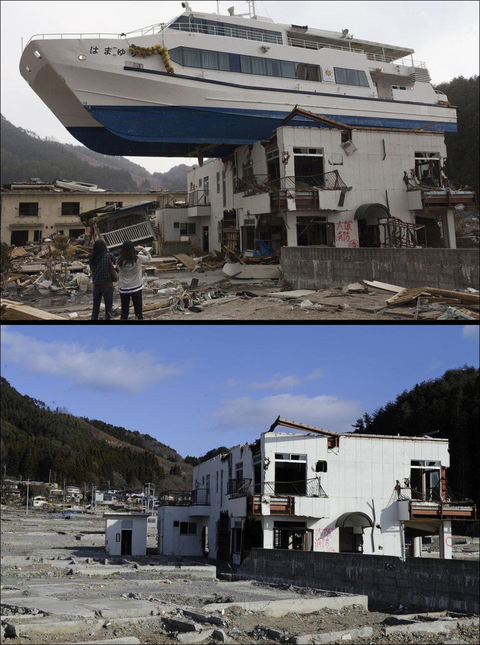 Ликвидация последствий цунами