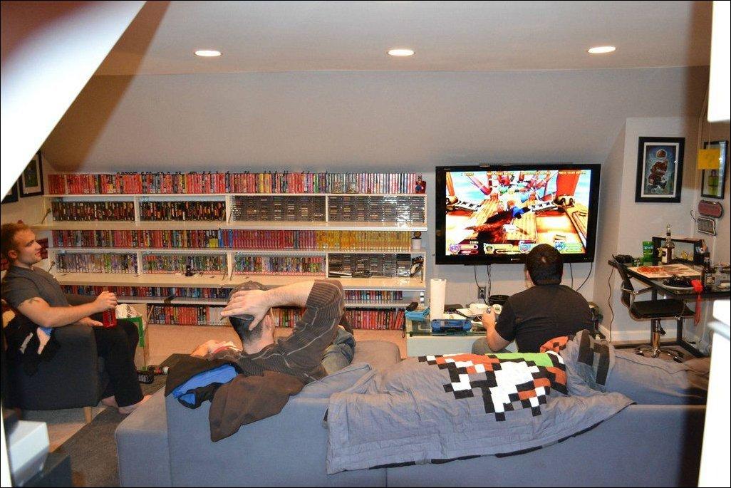 Комната геймера