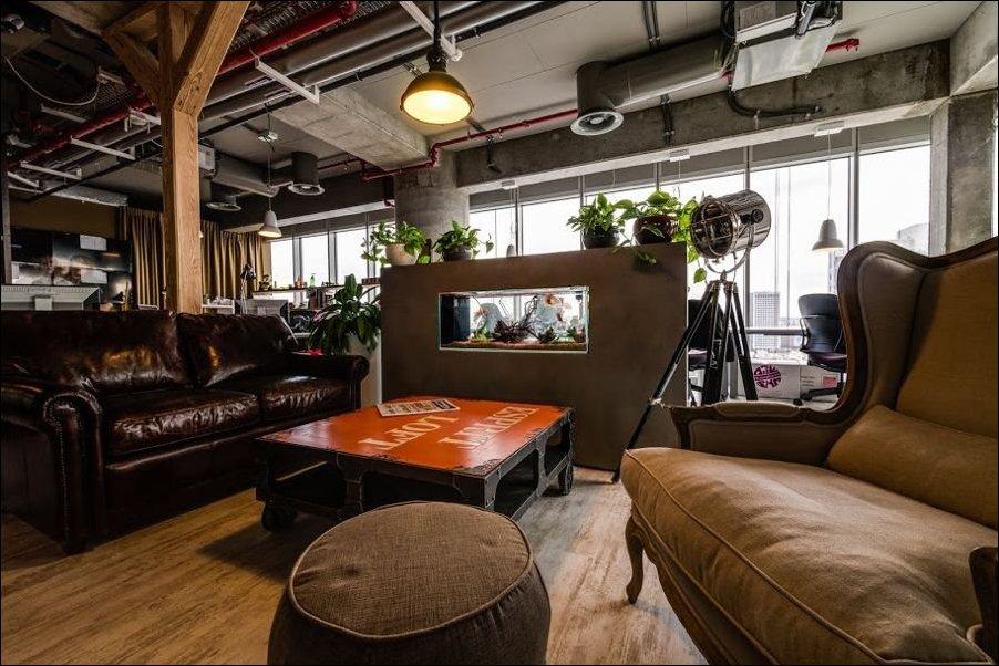 Новый офис Гугла в Тель-Авиве