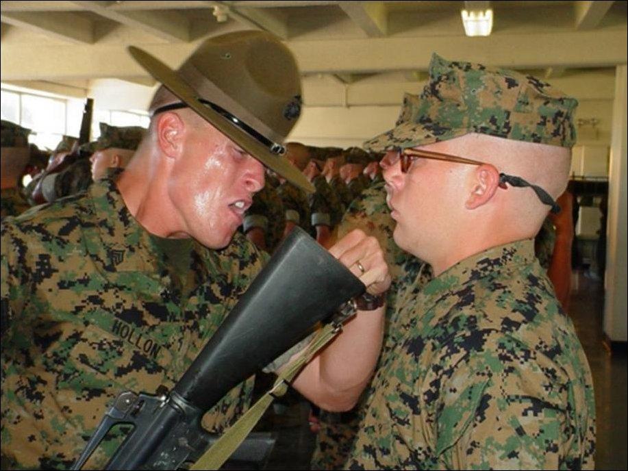 Лица американских сержантов