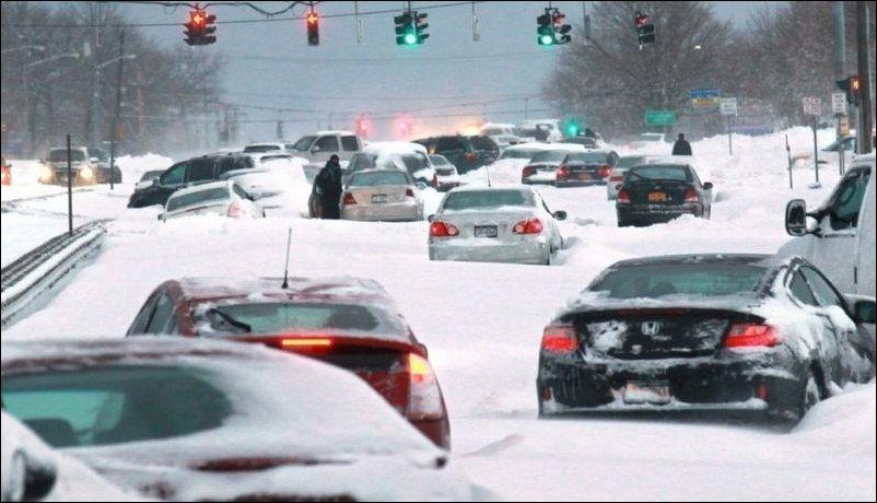 Снежный шторм Немо