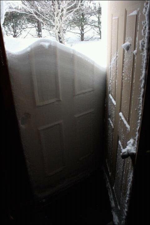 Последствия снежной бури Немо на северо-западе США