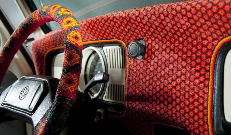 Volkswagen Beetle покрытый бисером