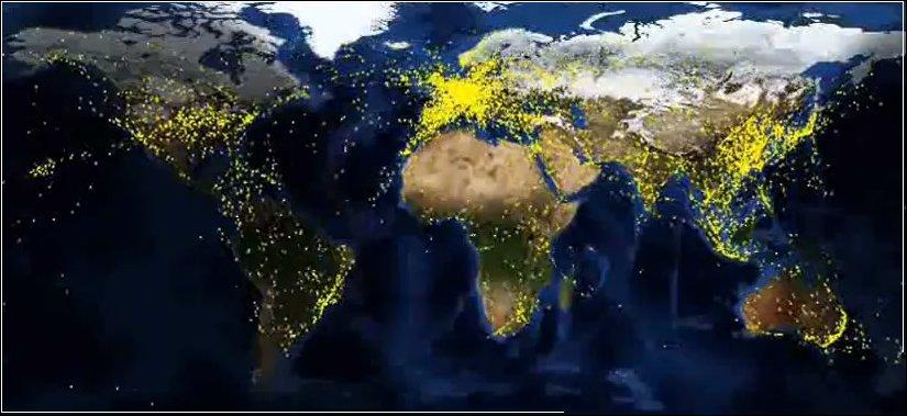 Мировой воздушный трафик