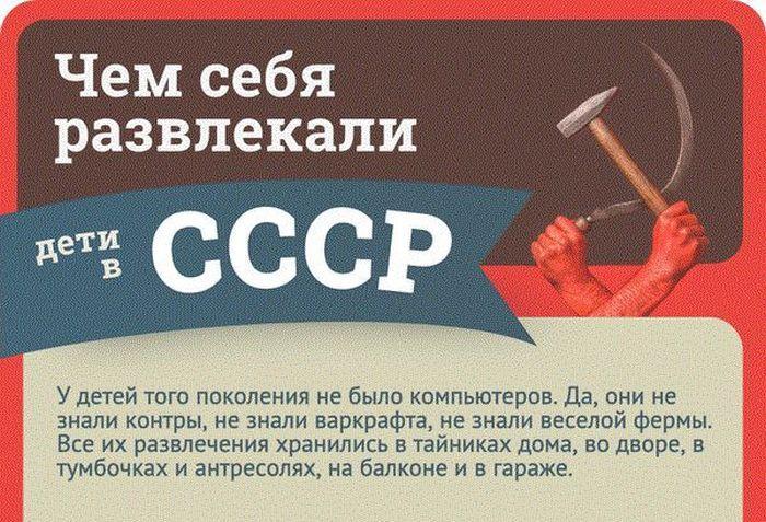 Дворовые развлечения детей в СССР
