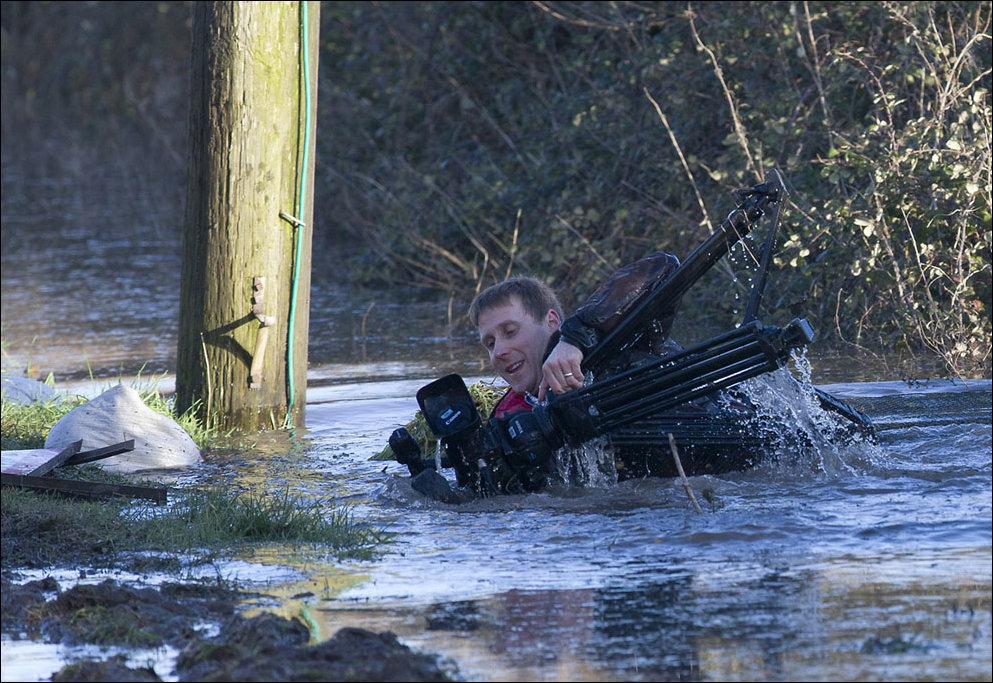 Наводнение на юго-западе Англии
