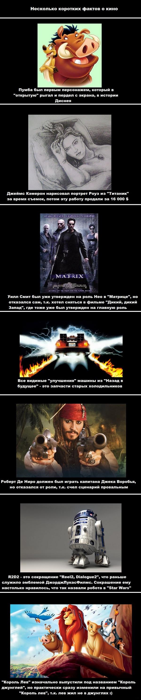 Факты про кино