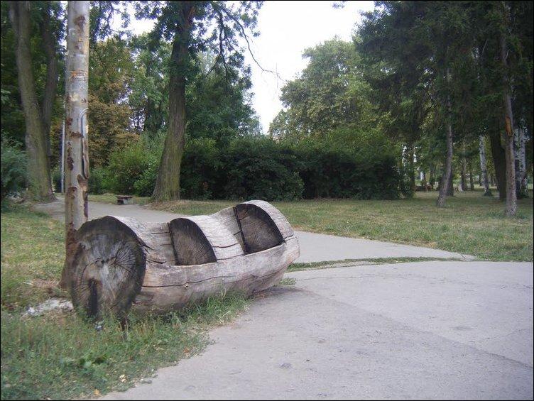 Необычная скамейка