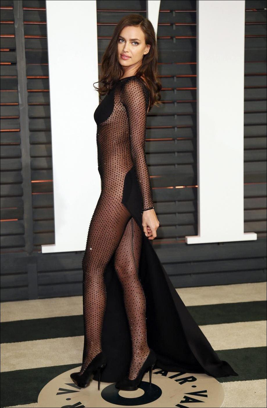 Ирина Шейк на Оскар-2015