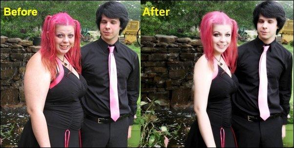 Фотошоп меняет людей