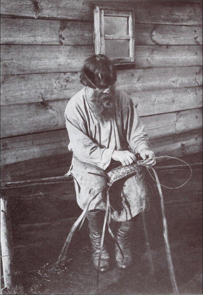 Сельское ремесло 100 лет назад