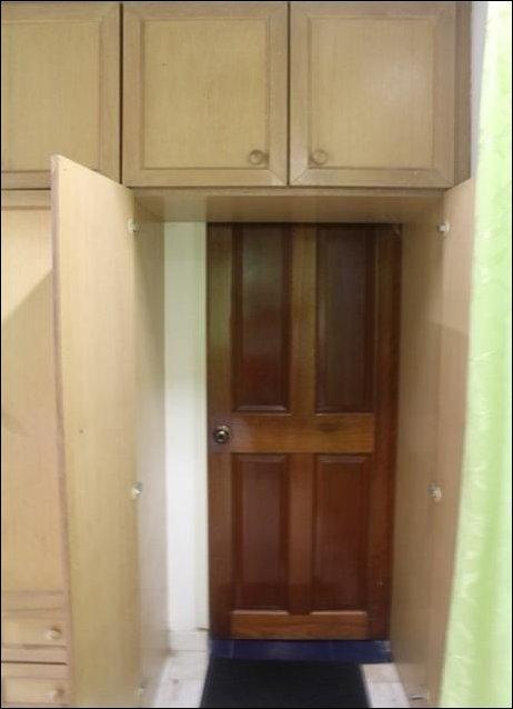 Шкаф с секретом